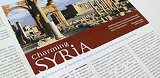 Charming Syria: pamphlet Project Image